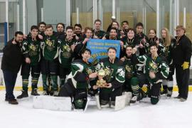 Midget Rec Deschenes winning Tri-County tournament